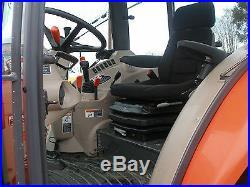 NICE KUBOTA M 9540 4 X 4 CAB L0ADER TRACTOR