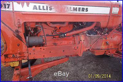 NICE ORIGINAL ALLIS CHALMERS D17 2WD TRACTOR POWER STEERING SERIES IV