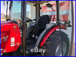 New 2019 TYM T394 HST 4x4 Cab Tractor with Loader 37hp