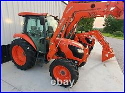 New 2021 Kubota M7060 4x4 loader tractor FREE DELIVERY