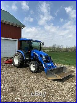 New Holland 46D Tractor With implements