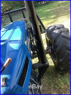 New Holland 8010 4x4. Dual Remotes. 100 Horsepower. Hydraulic Winch. Excellent
