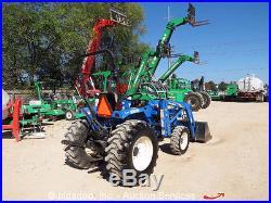 New Holland T1510 4x4 Tractor Loader Utility Ag Farm Diesel PTO bidadoo