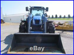 New Holland T5060 Diesel Farm Tractor 4X4 With Loader and Cab