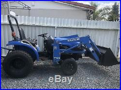 New Holland TC18 Compact Farm Tractor With Front End Loader & 3pt PTO Diesel