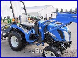 New Holland TC26DA Diesel Farm Tractor 4X4 ROPS & Loader