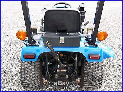 New Holland TZ25DA Compact Tractor & Front Loader 4x4 Diesel Belly Mower