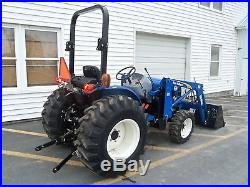 New Holland Workmaster 40 Compact Tractor Hydrostatic Transmission 110TL Loader