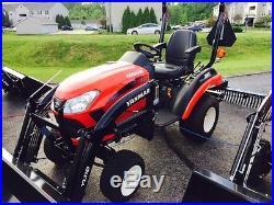 New Yanmar 21HP sub-compact tractor