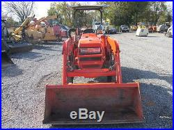 Nice 2008 Kubota L2800 4x4 Compact Tractor WithLoader Only 600hrs
