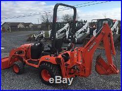 Nice 2011 Kubota BX25 4x4 Hydro Tractor Loader Backhoe
