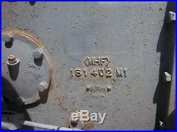 Nice Massey Ferguson 35 2wd Gas Tractor 2255 Hours