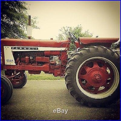 No Reserve NR 2WD International Harvester 656 Farmall Tractor PTO Rear Remote