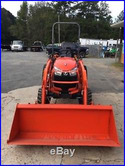 (ONLY 7 HOURS) 2014 Kubota B2650 4x4 Front End Loader Tractor