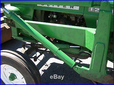 Oliver 1250 tractor with loader, loader tractor NO RESERVE