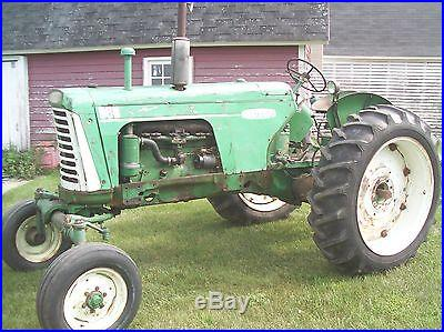 Oliver 880 farm tractor 1959 FACTORY MIST GREEN