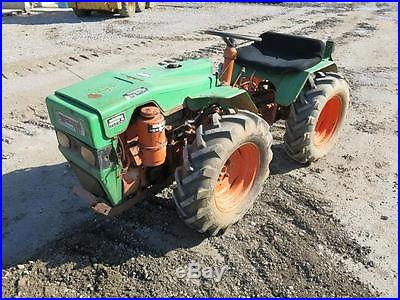 PASQUALI 991 DIESEL 4X4 COMPACT ORCHARD TRACTOR STOCK# 81536 NO RESERVE