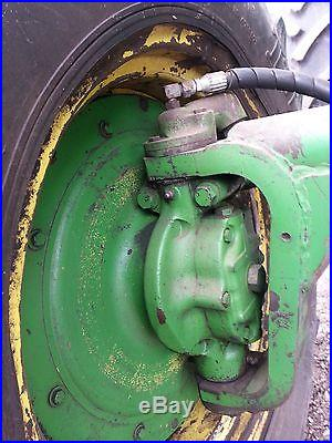 Rare 1970 John Deere 4020 Powershift Factory Hydraulic Front Wheel Drive Tractor