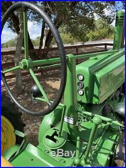 Rare Barn Find 1948 John Deere Model A Tractor Serial# 59467 Classic Runs Great