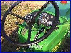 Restored 1965 John Deere Model 2010 Diesel Tractor