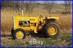 Restored Oliver 1950 Industrial Detroit GM Diesel Farm Tractor