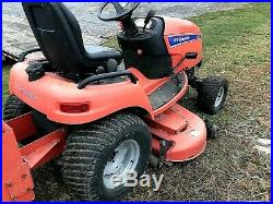 SIMPLICITY LEGACY XL SUB-COMPACT TRACTOR With MOWER & SNOW BLADE / PLOW. 4X4