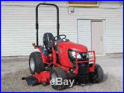 Sale! DEMO UNIT-TYM T254 Hydrostatic Tractor turf tires+front loader+mower deck