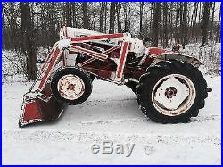 Satoh Bison S-650G 27HP Compact Loader Tractor PTO 3 Point Hitch Low 634 Hours
