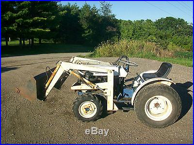 Satoh St D Tractor Loader Diesel Compact Utility Pto John Deere Farmall Ta