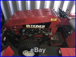 Steiner Tractor 440-4x4-Hydrostatic-161 hrs- 25 hp Kubota Diesel- 2015