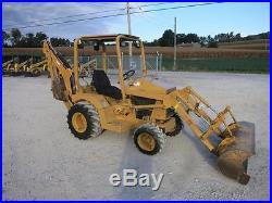 Terramite T7 Tractor Loader Backhoe, 24 HP Kubota, Hydrostatic Transmission
