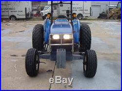 TN55 NEW HOLLAND TRACTOR 50HP 998 HOURS SOUTHERN GOVERNMENT OWNED DIESEL PTO