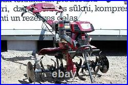 Tiller Cultivator Two wheel tractor 7.5HP with ploughs + mower