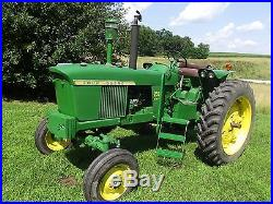 Tractor, John Deere 2510 Diesel, wide front, grand pa steps, 3 point hitch