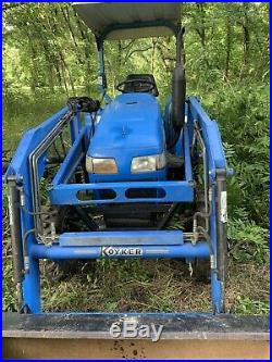 Tractor loader 4x4