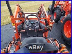 USED Kubota B21 Tractor Loader Backhoe, 21HP, 3 Cylinder Diesel Engine, 4WD, P/S