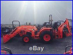 Used Kubota L2501 Compact Tractor