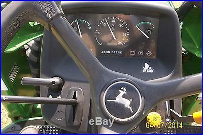 VERY NICE JOHN DEERE 4500 4 X 4 LOADER TRACTOR ONLY474 HOURS
