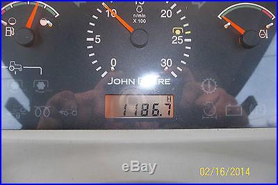 VERY NICE JOHN DEERE 4720 4 X 4 CAB LOADER TRACTOR