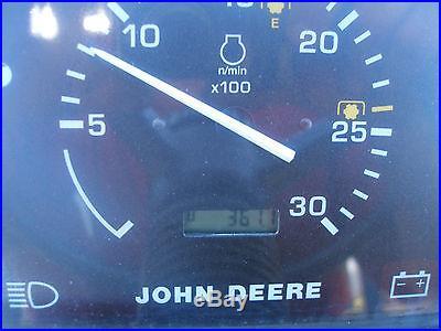 VERY NICE JOHN DEERE 5320 4 X 4 LOADER TRACTOR ONLY 361 HOURS