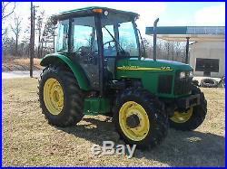 VERY NICE JOHN DEERE 5420 4 X 4 CAB TRACTOR
