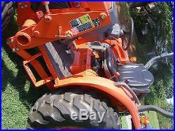 VERY NICE KUBOTA L 3240 4 X 4 LOADER TRACTOR