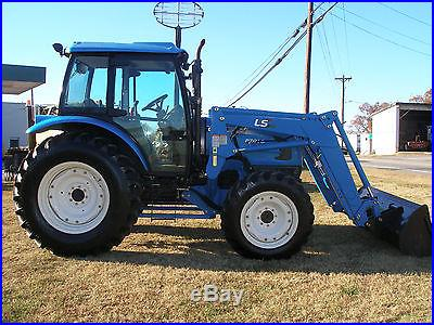 VERY NICE LS P7010 4 X 4 CAB LOADER TRACTOR