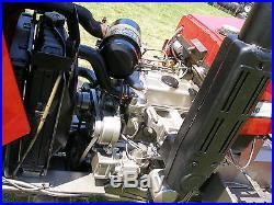 VERY NICE MASSEY FERGUSON 1020 4x4 DIESEL TRACTOR HYDROSTATIC TRANSMISSION