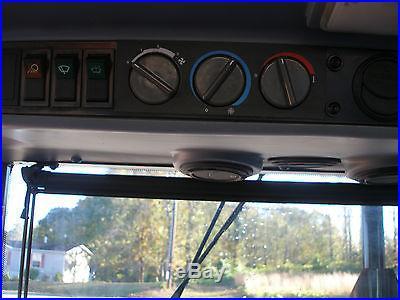 VERY NICE MASSEY FERGUSON 481 4 X 4 CAB LOADER TRACTOR