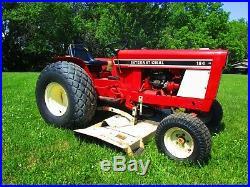Vintage 1980 International 184 Lowboy Tractor Belly Mower