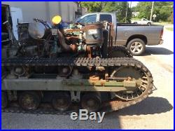 Vintage World War 2 M2 HST Cletrac Bomber Nurse High Speed Military Tractor