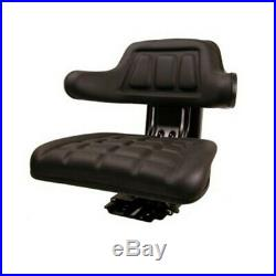 W222BL Universal Tractor Seat Black for Ford 2000 3000 4000 5000 6600 7000