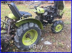 Yanmar 155D 4X4 Diesel Compact Tractor 3PT PTO + Weights LK John Deere