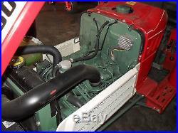 Yanmar 1601D 4 wheel drive tractor with warranty